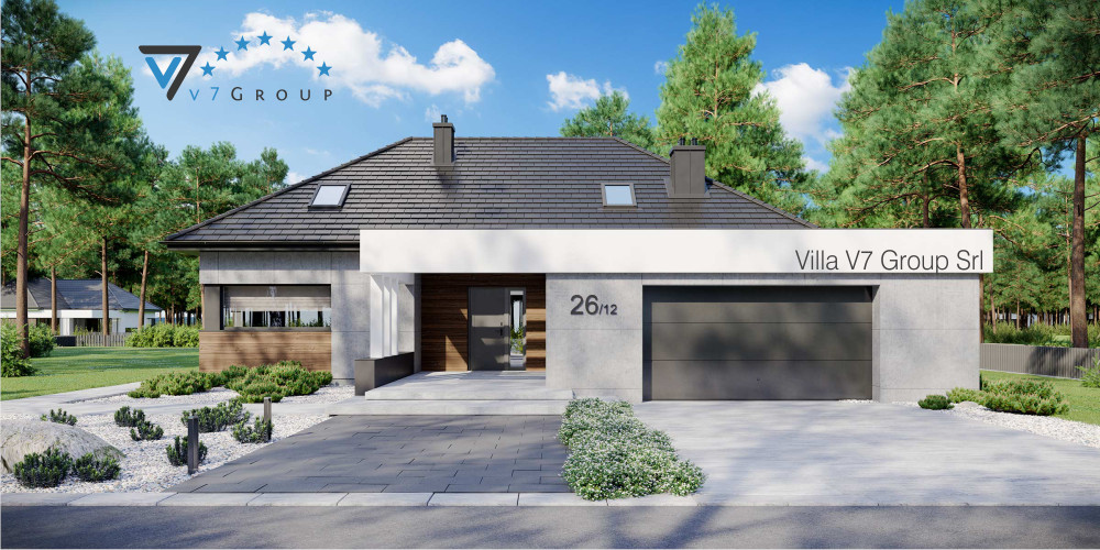 VM Immagine Villa V26 - la presentazione di Villa V26 - Variante 12