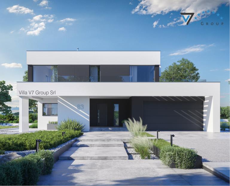Immagine VM Villa V83 - la parte frontale della villa