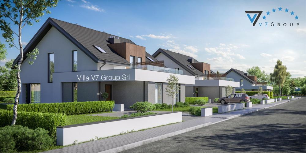 VM Immagine Villa V62 - la presentazione di Villa V61 B - Variante 1