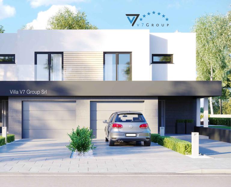 VM Immagine Villa V52 (B) - la parte frontale della villa