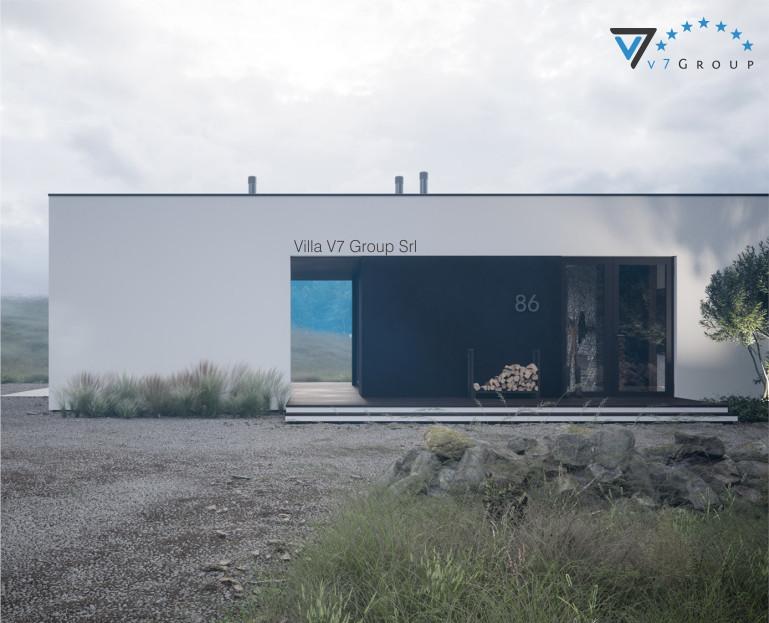 Immagine VM Villa V86 - la parte frontale della villa