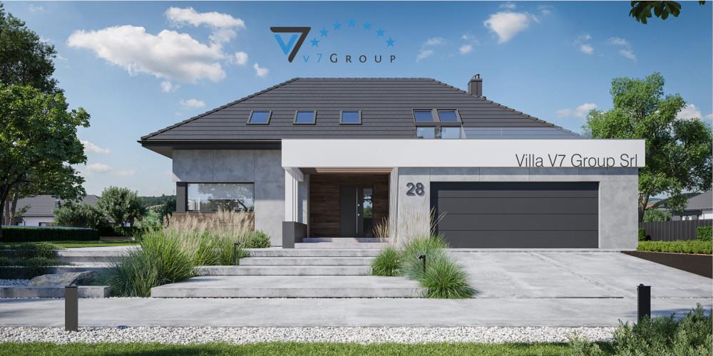 Immagine VM Villa V28 - Variante 1 - la presentazione di Villa V28 - Variante 2
