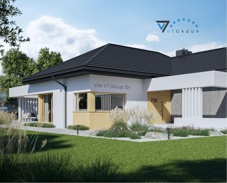 Immagine VM Villa V708 - la parte frontale della villa