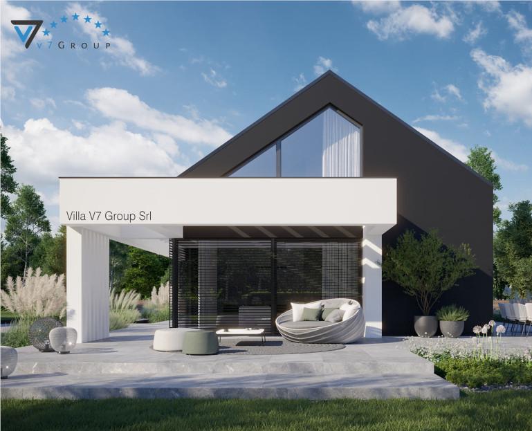 Immagine VM Villa V81 - la vista giardino della villa