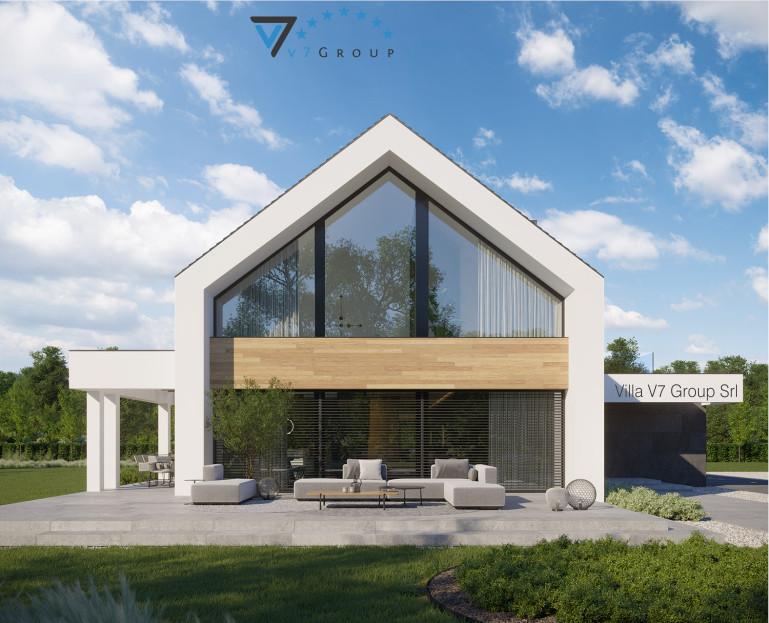 Immagine VM Villa V706 - la vista giardino della villa