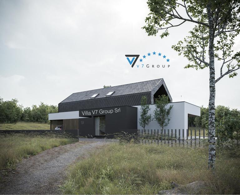 Immagine VM Villa V87 - la parte frontale della villa