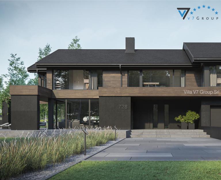 Immagine VM Villa V728 - la parte frontale della villa